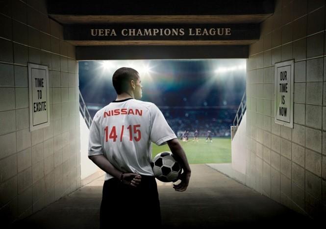 Nissan sponsoruje Ligę Mistrzów!