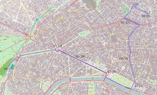 On boardy warte uwagi: szaleńcza jazda przez Paryż