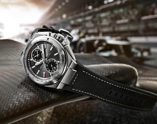 IWC plus AMG, czyli zegarki i motoryzacja