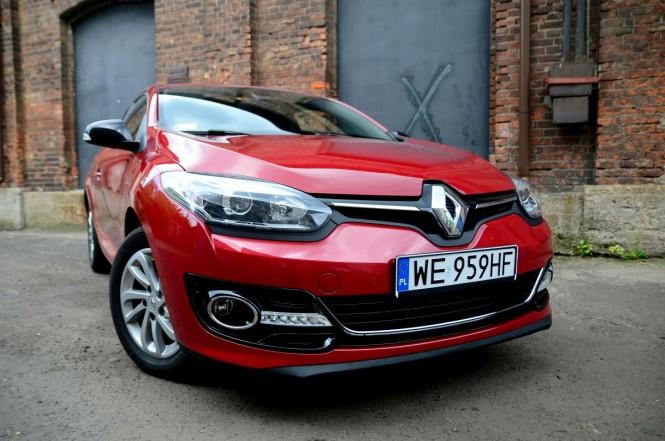 Francuskie coupe dla młodych - Renault Megane