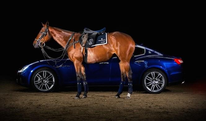 Maserati+La Martina=siodło
