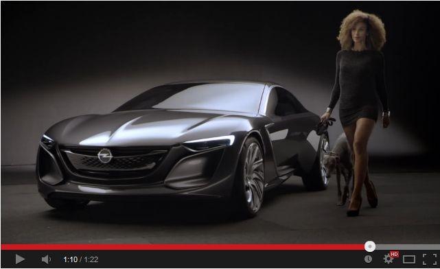 Reklamy warte uwagi: Opel Monza Concept