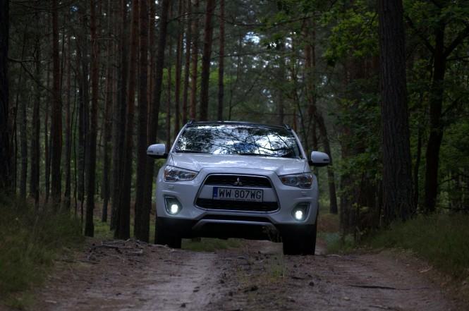 Zwierzę leśne: Mitsubishi ASX