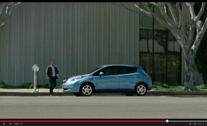 Reklamy warte uwagi: Nissan LEAF