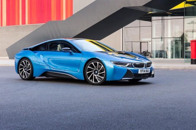BMW i8 - supersamochód przyszłości