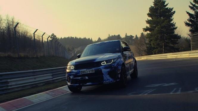 Range Rover Sport SVR najszybszy na Nurburgring