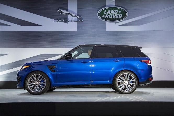 Premiera Range Rovera Sport SVR