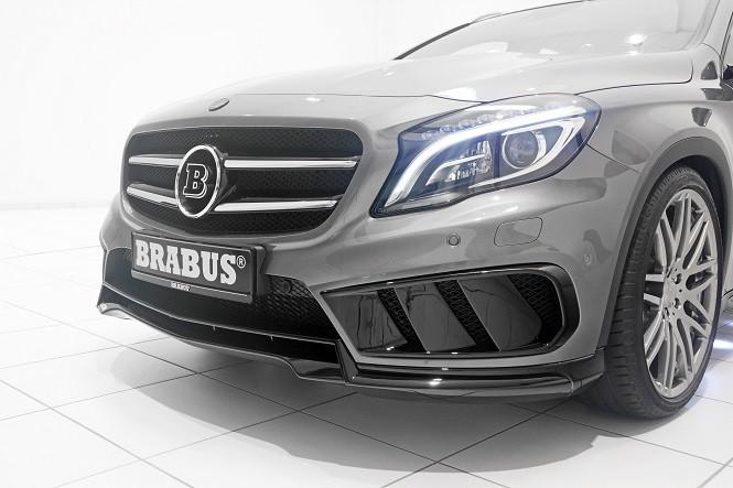 Brabus przerobił Mercedesa GLA