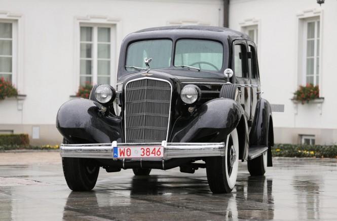 Cadillac Marszałka Piłsudskiego znów w służbie państwa