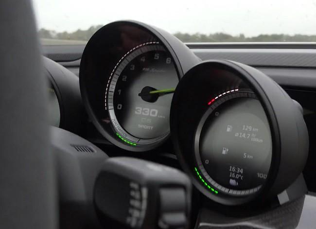 Porsche 918 jest wolniejsze niż Koenigsegg