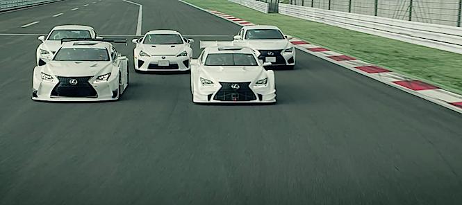 Tańczące Lexusy, czyli sztuka i moto w sosie japońskim