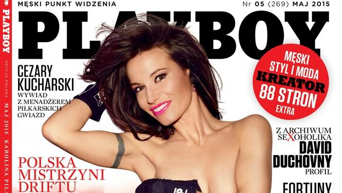 Karolina Pilarczyk na okładce majowego Playboya!