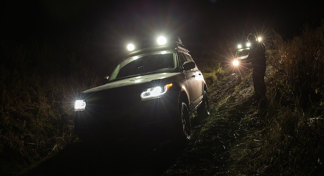 Wojna holowników, czyli Range Rover vs Range Rover