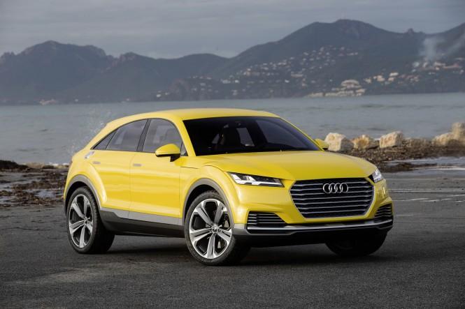 TTQ:  nowy crossover Audi