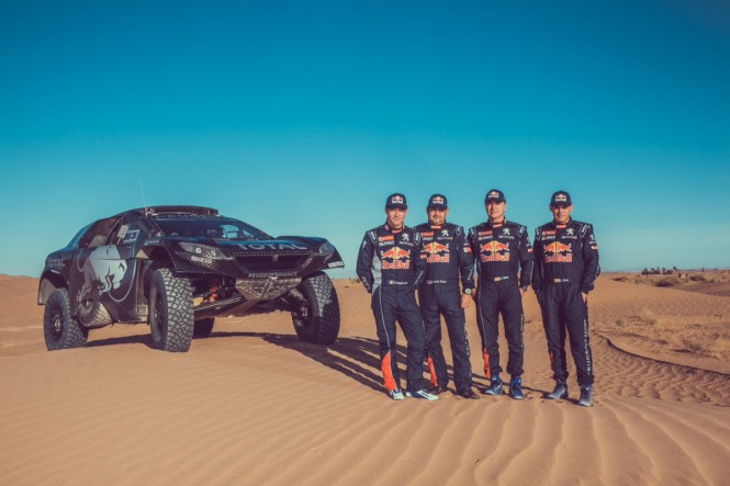 Loeb jedzie na Dakar