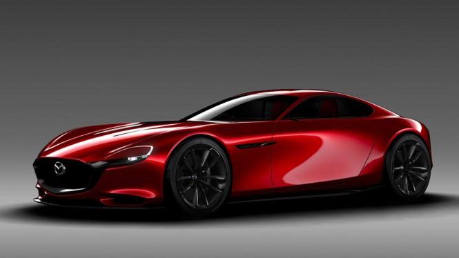 Mazda RX Vision - Przygody z Wanklem ciąg dalszy