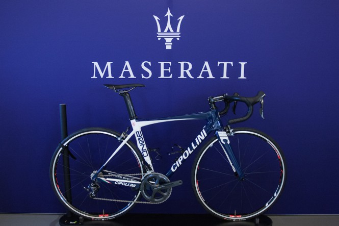 Rower jak Maserati