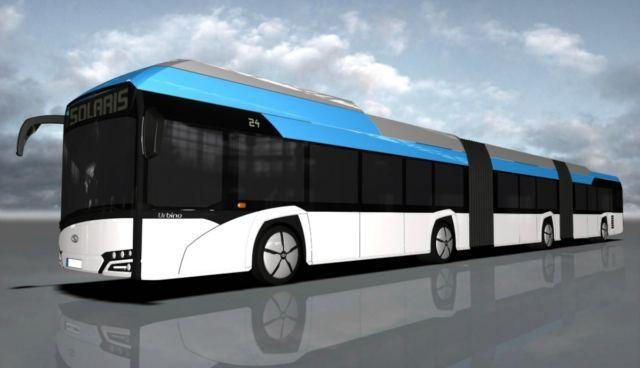 Mega elektrobus Solarisa