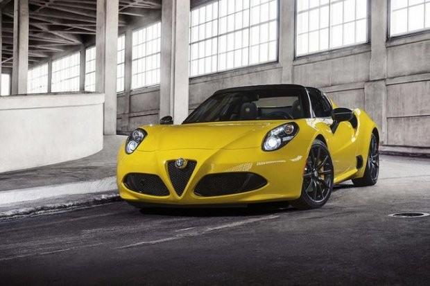Nowa Alfa Romeo 4C Spider