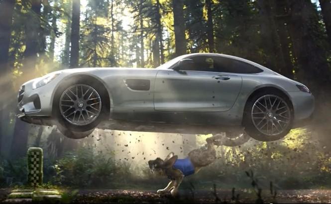Reklamy warte uwagi:  Mercedes AMG GT na Finał Super Bowl
