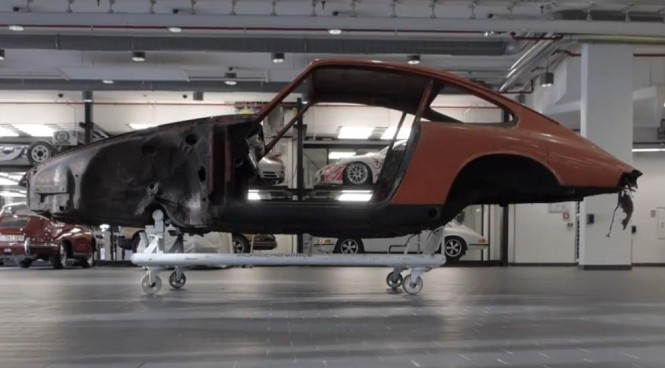 Porsche odbuduje najstarszą 911