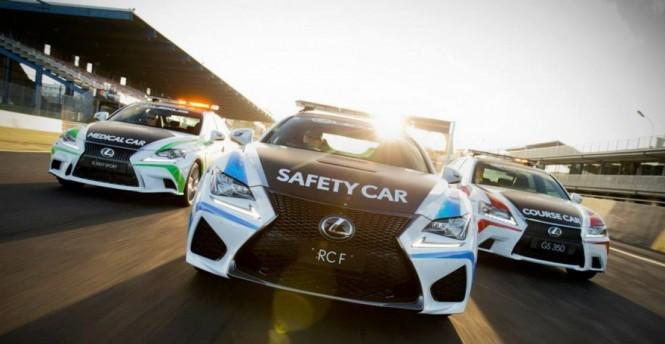 Lexus samochodem bezpieczeństwa