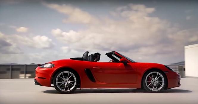 Jak przyspiesza Porsche 718 Boxster S? Koniecznie z dźwiękiem!