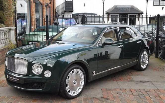 Kup sobie Bentleya po... Elżbiecie II!