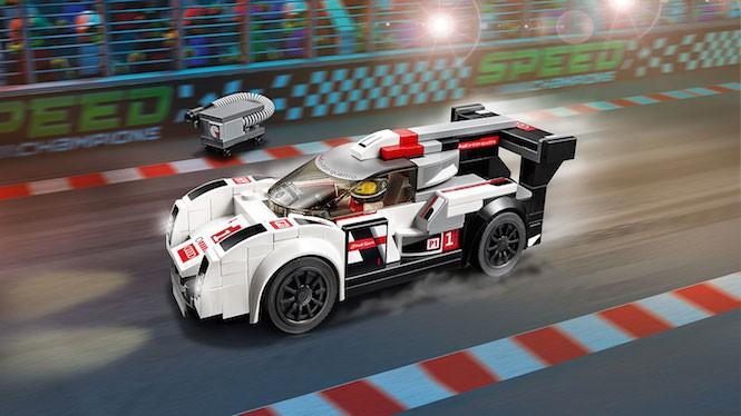 LEGO i wyścigi: oni są świetni w te klocki