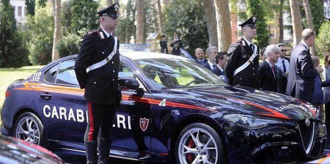 Alfa Romeo Giulia dla włoskiej policji. 503 konie! [ZDJĘCIA, MAMMA MIA!]