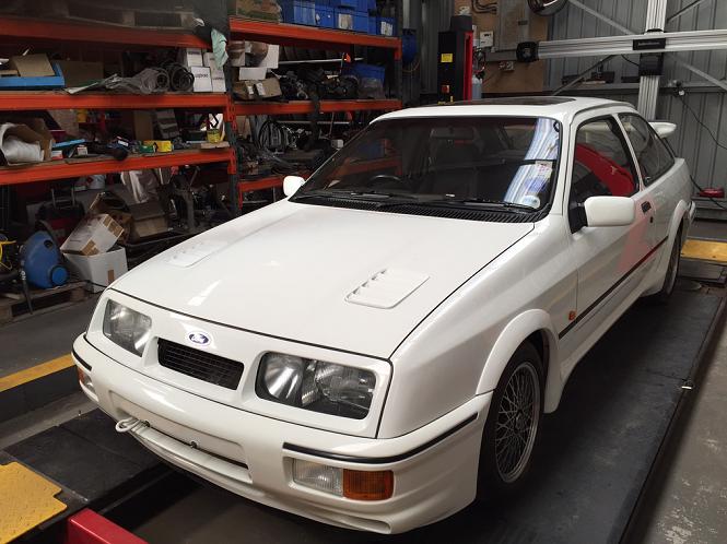 Ta Sierra RS Cosworth to lepsze niż kumulacja w totku! [FOTY]