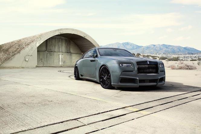 Ten Rolls Royce wygląda chuligańsko i za to go kochamy