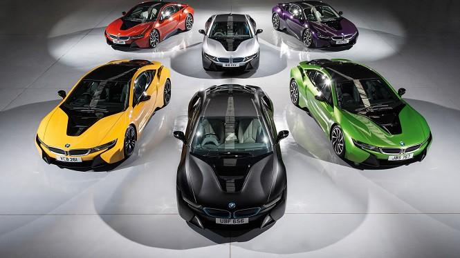 BMW i8 w odlotowych kolorach? Tak, ale tylko w Wielkiej Brytanii