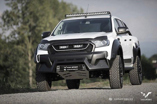 Ford Ranger M-Sport: prawie jak F150 Raptor