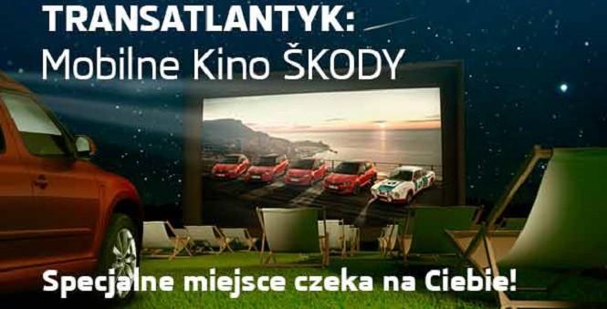 Mobilne Kino Skody ponownie wyrusza w Polskę!