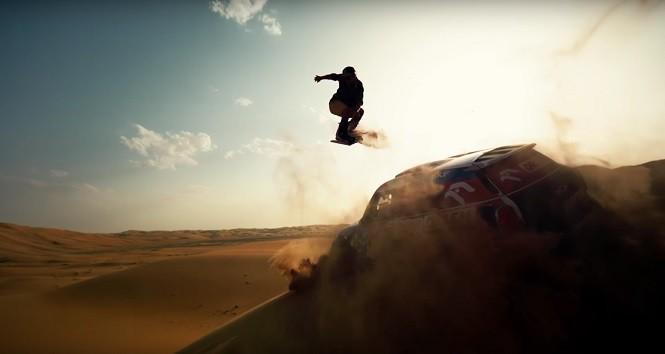 Nowa reklama Red Bulla - Przygoński i Pawlusiak wspólnie bawią się na pustyni