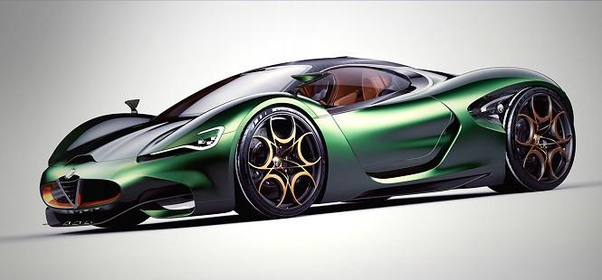 Alfa Romeo Furia Concept: polska wizja seksownej Włoszki