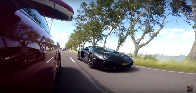 Lamborghini Aventador vs. Tesla S P90D - kto wygra pojedynek?