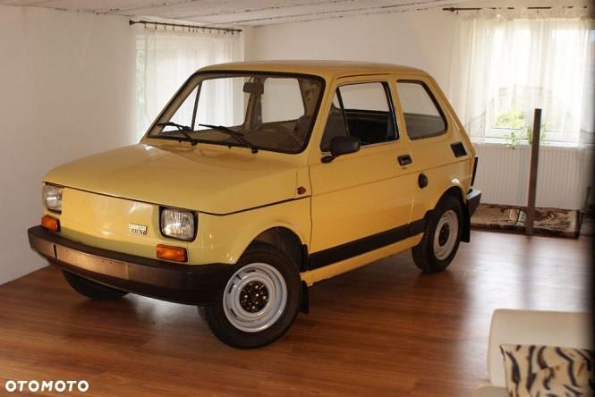 Pamiętacie faceta co trzymał Malucha w domu? Jego auto jest do kupienia!