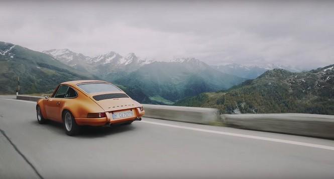 Porsche w Alpach to najlepsza rzecz jaką dzisiaj zobaczysz