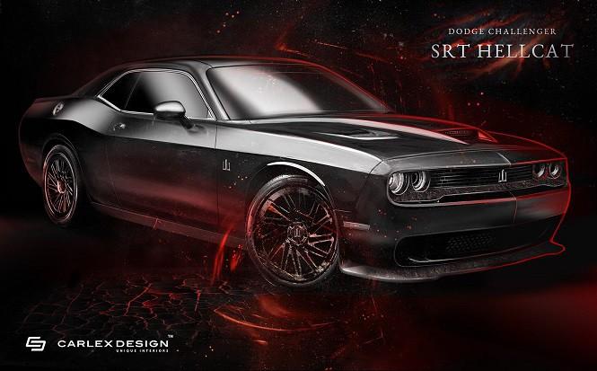 Carlex Design zmodyfikował wnętrze Dodge'a Challengera SRT Hellcat