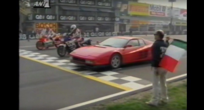 Ferrari Testarossa, Yamaha FZ 750 i Yamaha YZR 500 - kto wygra?