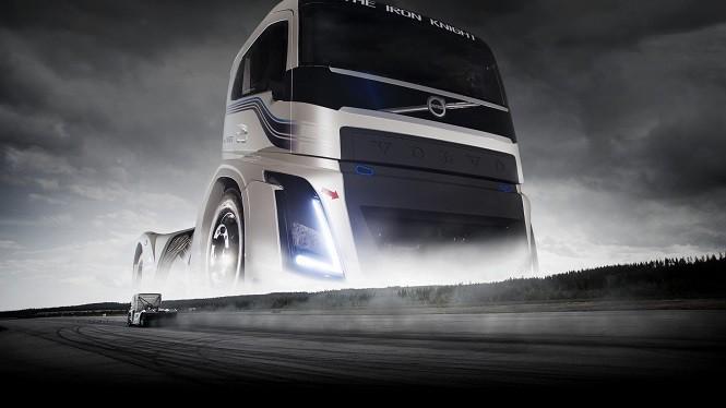 Ciężarówka Volvo pobiła dwa rekordy prędkości