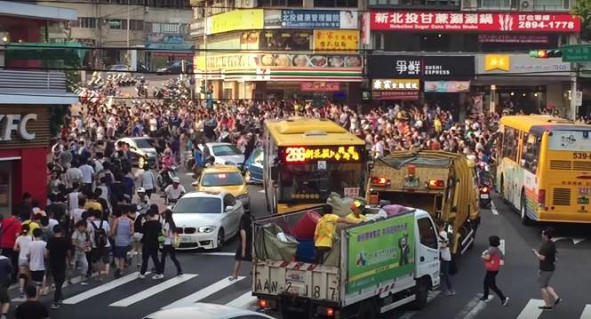 Gracze Pokemon Go sparaliżowali ruch w Tajpeju
