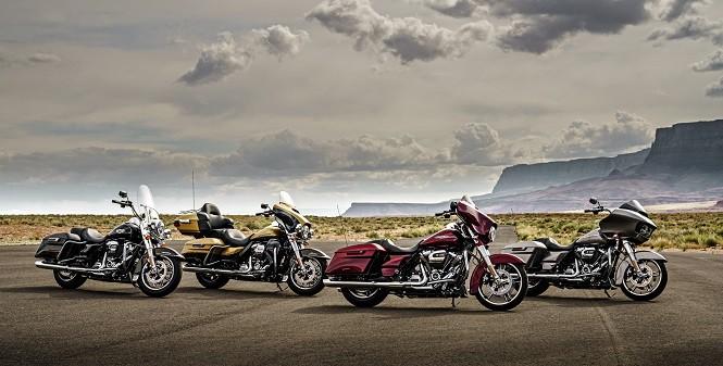 Harley-Davidson prezentuje nowe motocykle z rodziny Touring