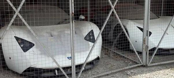 Tak gniją porzucone rosyjskie supersamochody Marussia B1