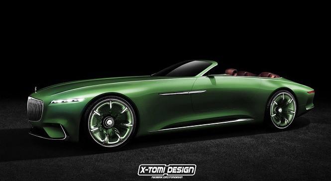 Vision Mercedes-Maybach 6 w wersji bez dachu