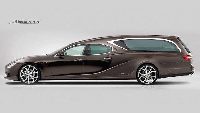 Maserati Ghibli jako... karawan!