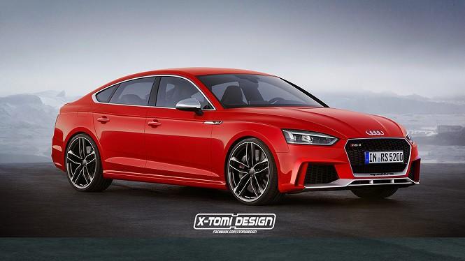 Czy tak wyglądałoby Audi RS5 Sportback?