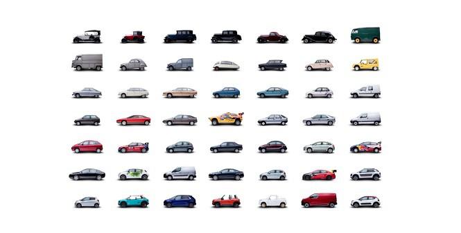 Citroen stworzył fantastyczną stronę poświęconą modelom marki!